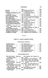 The book of English poetry, with critical and biogr. sketches of the poets