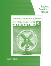 Student Solutions Manual for Aufmann/Lockwood's Essentials of Mathematics: An Applied Approach, 9th: Edition 9