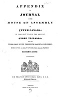 Journal of the House of Assembly of Upper Canada PDF
