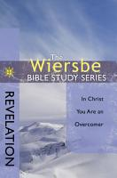 The Wiersbe Bible Study Series  Revelation PDF