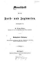Monatschrift für das Forst- und Jagdwesen: 1872
