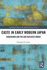 Caste in Early Modern Japan