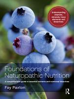 Foundations of Naturopathic Nutrition PDF