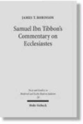 Samuel Ibn Tibbon s Commentary on Ecclesiastes PDF