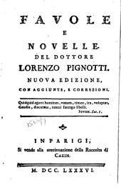 Favole e novelle del dottore Lorenzo Pignotti