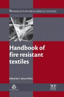 Handbook of Fire Resistant Textiles PDF