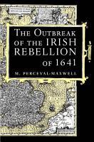 Outbreak of the Irish Rebellion of 1641 PDF