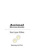Animal Movies Guide PDF