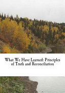 What We Have Learned PDF
