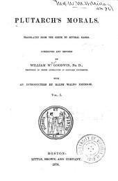 Plutarch's Morals: Volume 1