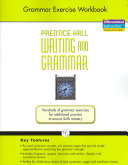 Writing and Grammar Exercise Workbook 2008 Gr12 PDF