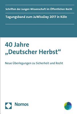 40 Jahre  Deutscher Herbst  PDF