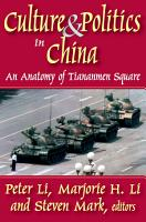 Culture and Politics in China PDF