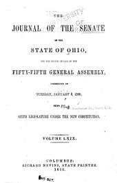 The Journal of the Senate of the ... General Assembly of the State of Ohio ...: Volume 59