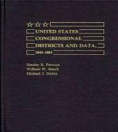 United States Congressional Districts and Data, 1843-1883
