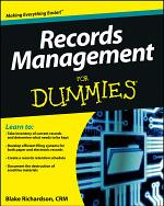 Records Management For Dummies