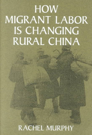 How Migrant Labor is Changing Rural China PDF