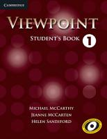 Viewpoint Level 1 Student s Book PDF