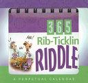 Rib Ticklin  Riddles