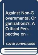 Against Non-governmental Organizations?