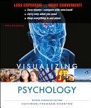 Visualizing Psychology  Binder Ready Version   WileyPLUS Registration Card