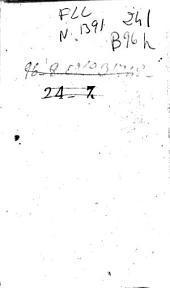 Theologia moralis antehac ex probatis auctoribus breviter concinnata