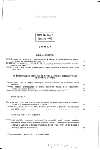 Revista de istorie PDF