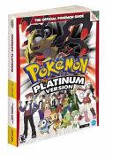 Pok  mon Platinum Version PDF