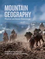 Mountain Geography PDF