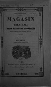 Michel, ou amour et menuiserie: Comédie-vaudeville en quatre actes