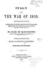 Italy and the War of 1859