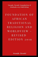 Foundations of African Traditional Religion and Worldview PDF