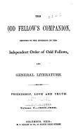 The Odd Fellow s Companion PDF