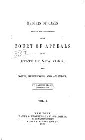 Reports of Cases Decided in the Court of Appeals of the State of New York: Volume 40