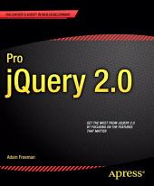 Pro jQuery 2.0: Edition 2
