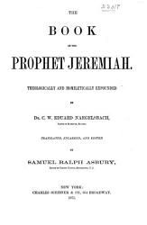 A Commentary On The Holy Scriptures Jeremiah Lamentations Book PDF
