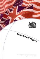 Fifty sixth annual report of the Marshall Aid Commemoration Commission for the year ending 30 September 2009 PDF