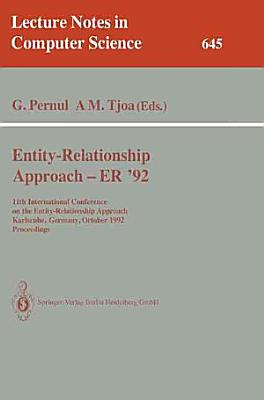 Entity Relationship Approach   ER  92 PDF
