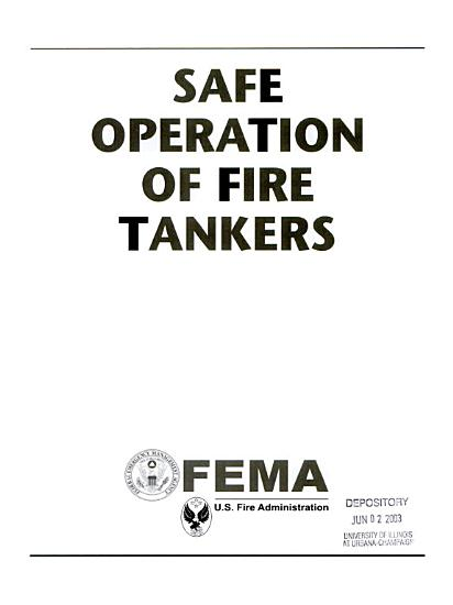 Safe Operation of Fire Tankers PDF