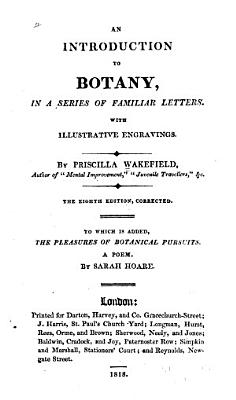 An Introduction to Botany  in a Series of Familiar Letters PDF