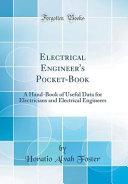 Electrical Engineer s Pocket Book PDF