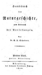 Handbuch der Zoologie: Band 2