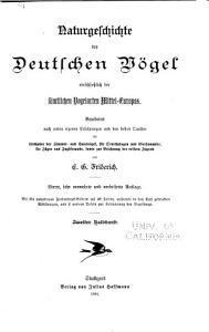 Naturgeschichte der deutschen v  gel PDF