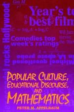 Popular Culture, Educational Discourse, and Mathematics