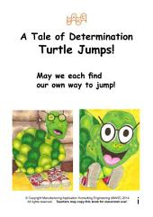 A Tale of Determination: Turtle Jumps!
