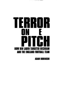 Terror on the Pitch