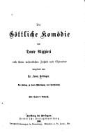 Die G  ttliche kom  die des Dante Alighieri nach ihrem wesentlichen inhalt und charakter PDF