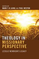 Theology in Missionary Perspective PDF