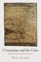 Constantine and the Cities PDF