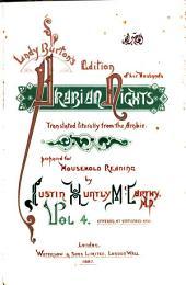 Lady Burton's Edition of Her Husband's Arabian Nights: Volume 4